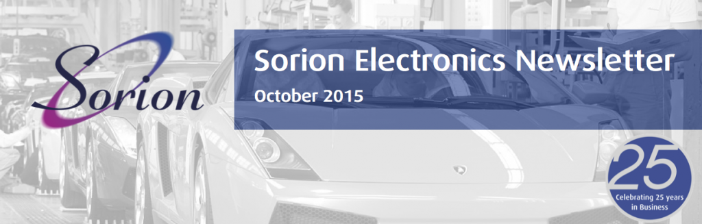 Sorion Electronics October Newsletter