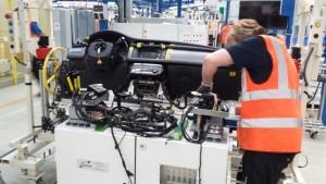 End of Line Electrical test - Jaguar X760 Cockpit Test
