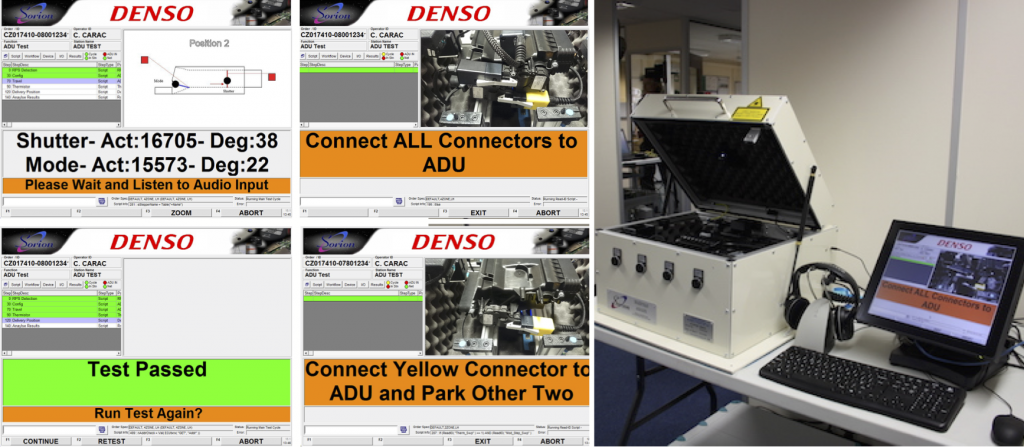 DENSO Europe Test Equipment