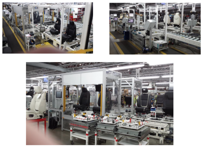 Sorion's Force Application Machines at the LEAR production facility