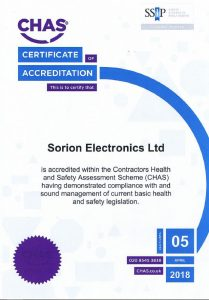CHAS Certificate of Accreditation