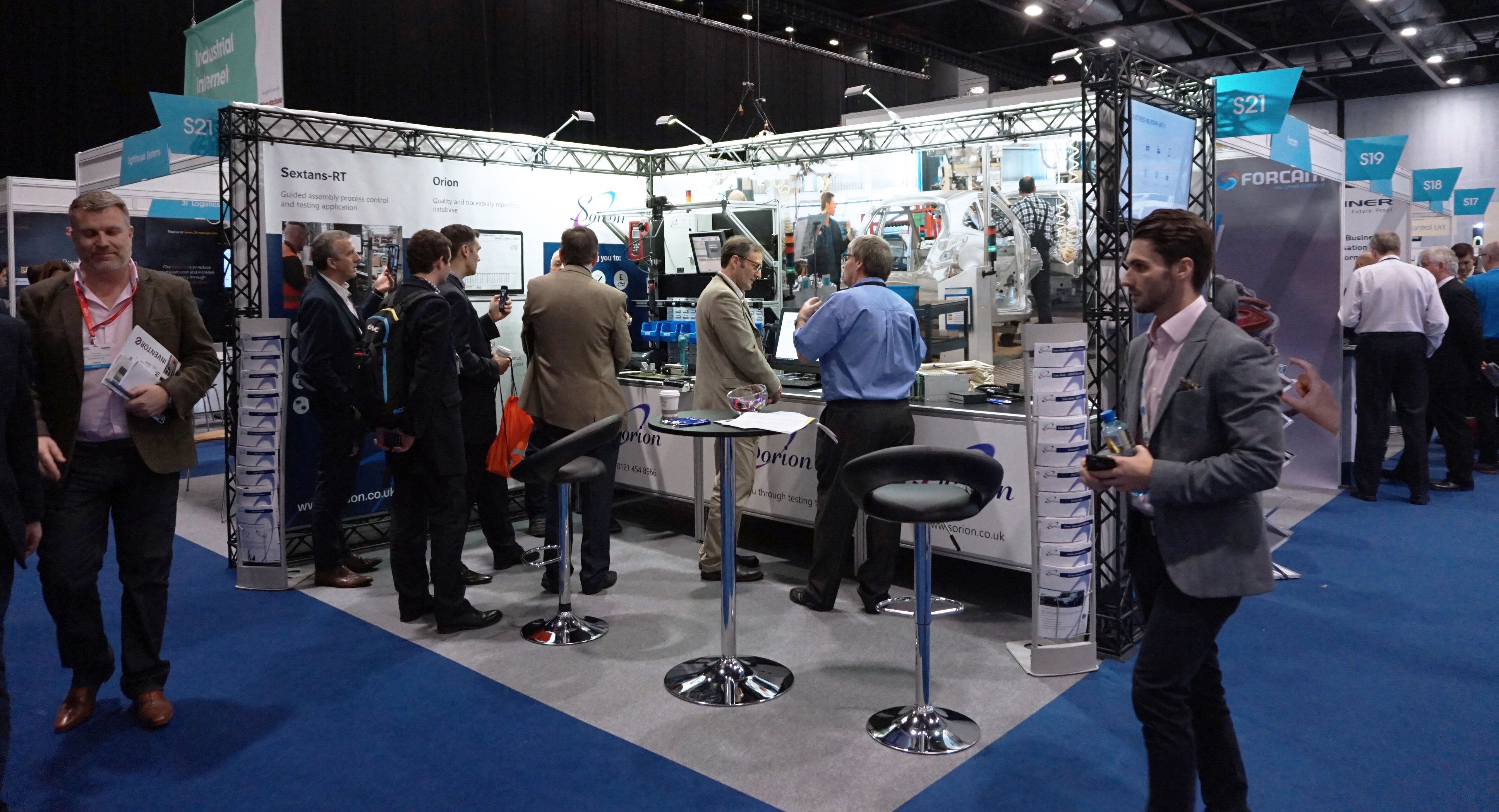 Sorion Electronics at Smart Factory Expo, Liverpool