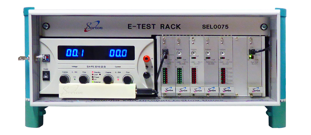 electrical test rack