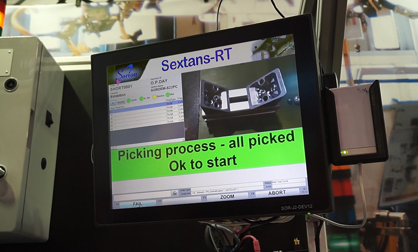 Sextans-RT process control application