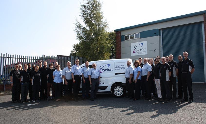 Sorion Electronics team Birmingham