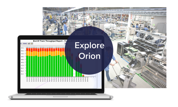 Try the Orion manufacturing traceability application