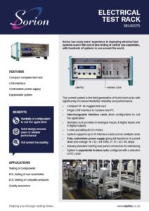 Electrical test hardware