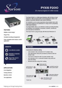 P20IO digital IO USB module