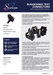 Tailor-made industrial connectors