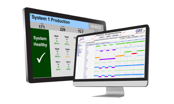 OEE equipment monitoring software