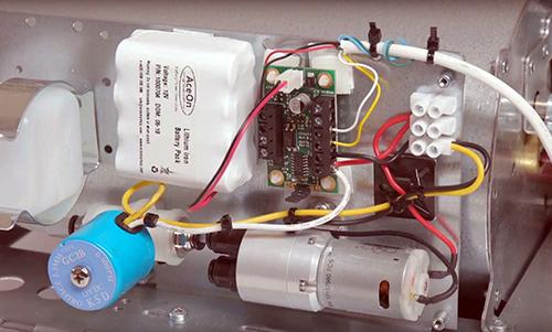 electronic design pump controller