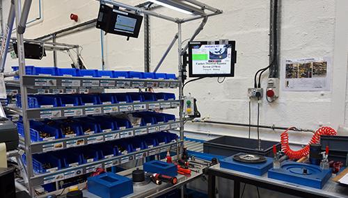 Production control solution at Gardner Denver
