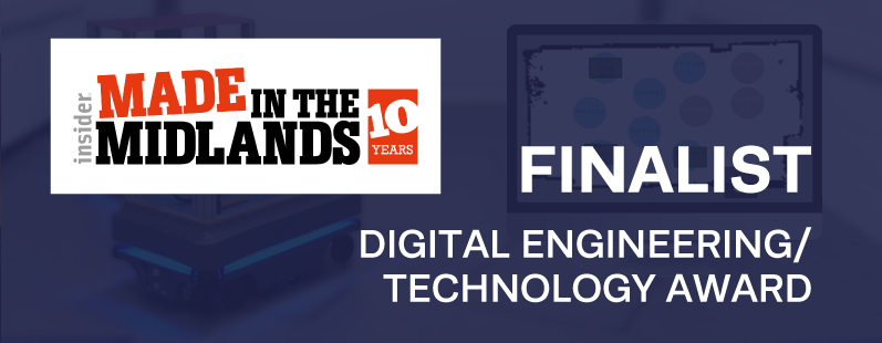 Sorion shortlisted Digital Engineering Award