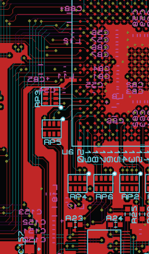 PCB layout - electronics product development