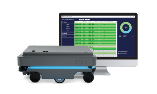 Sequenced production control - Mobile robot management and analytics